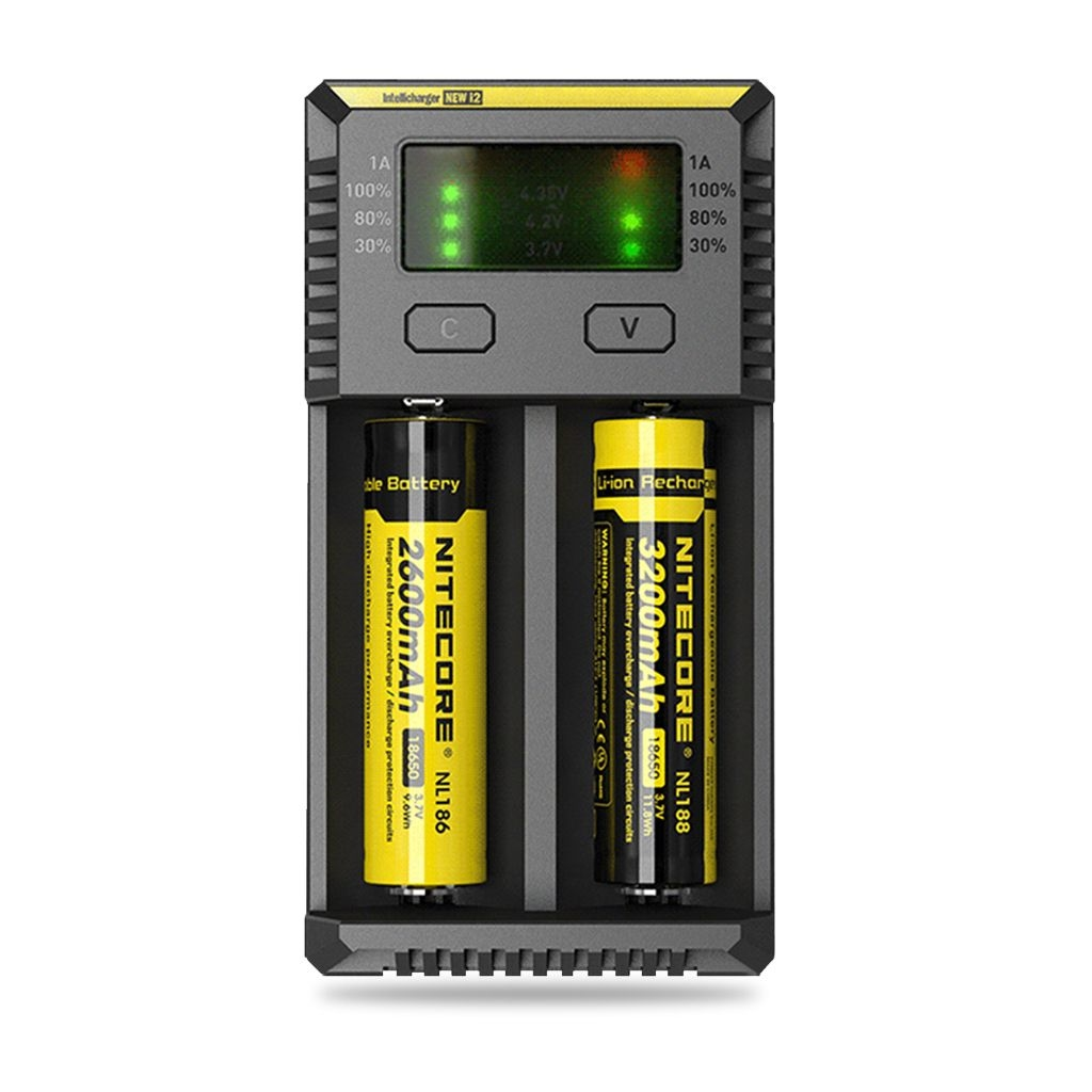 Nitecore Intellicharger New i2 Battery Charger